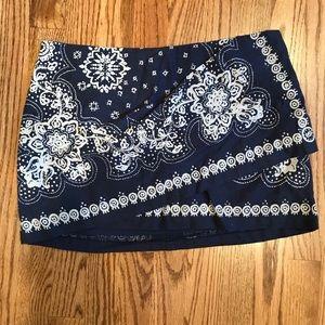 Free people bandanna skirt